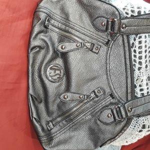 Franco Sarto gray crossbody purse